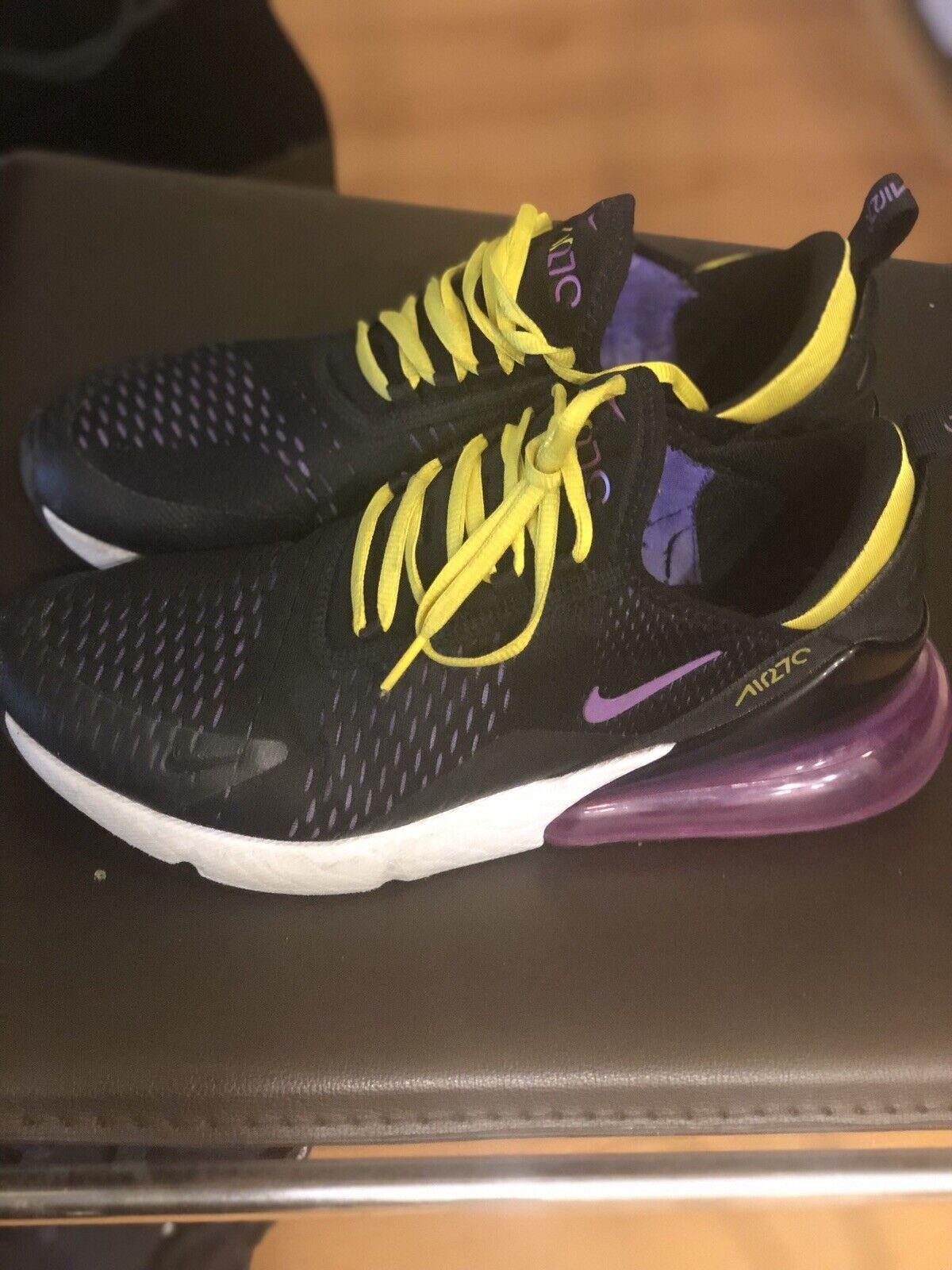 Nike Air 27 C Lakers colors