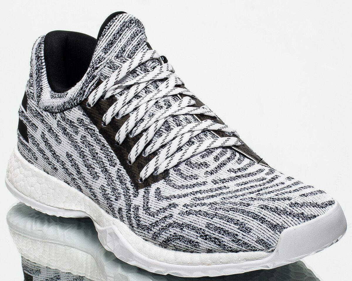 adidas Harden Vol. 1 LS Primeknit men shoes NEW cloud white core black AC8407