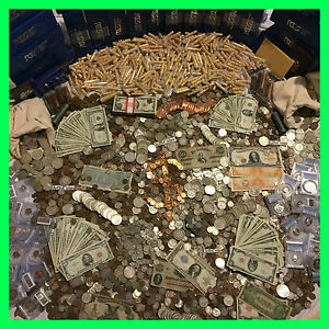 ESTATE-SALE-OLD-US-COINS-GOLD-999-SILVER-BULLION-GEMS-PCGS-MONEY-HOARD-LOT