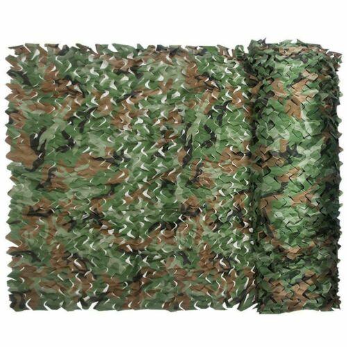 Super Camouflage Net Shelter 6x1.5m Military Army Stealth Camping Hunting AntiUV