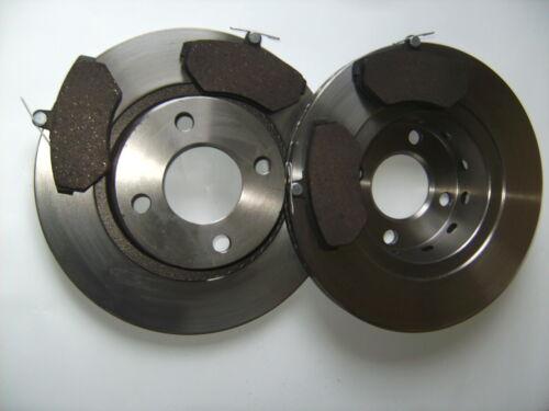 Bremsbeläge Bremsscheiben vorne Voll für Audi 80 B4 Avant 1,6 2,0 1,9 D TDI
