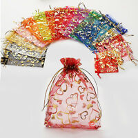 7x9cm Premium ORGANZA Wedding Favour XMAS GIFT BAGS Jewellery Candy Pouches