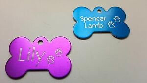 PET-TAG-BONE-WITH-PAWS-DIAMOND-ENGRAVED-ID-DOG-TAGS-2-SIDE-CUSTOM-PERSONALIZED
