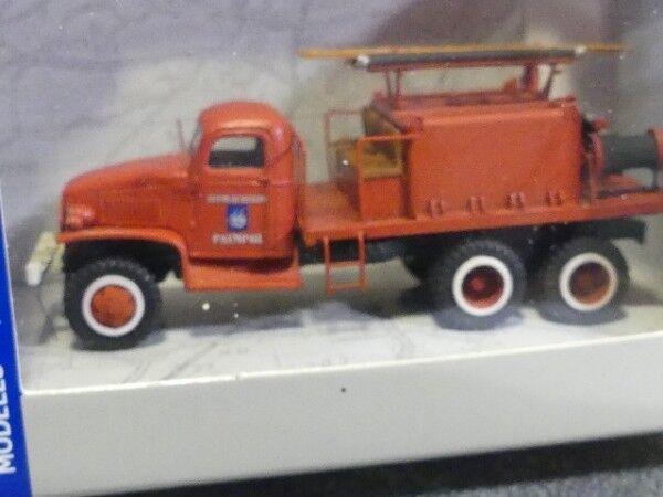 1 87 REE MODELES GMC pompier Paimpol cb-079