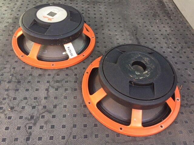 2 x JBL Lansing Fender 12  Speaker - Orange Basket