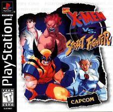 X-MEN vs. STREET FIGHTER disc only SONY PLAYSTATION 1 PS1