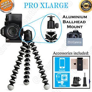 PRO-XLARGE-Flexible-Octopus-Tripod-Ballhead-Mount-10x-Support-DSLR-zoom