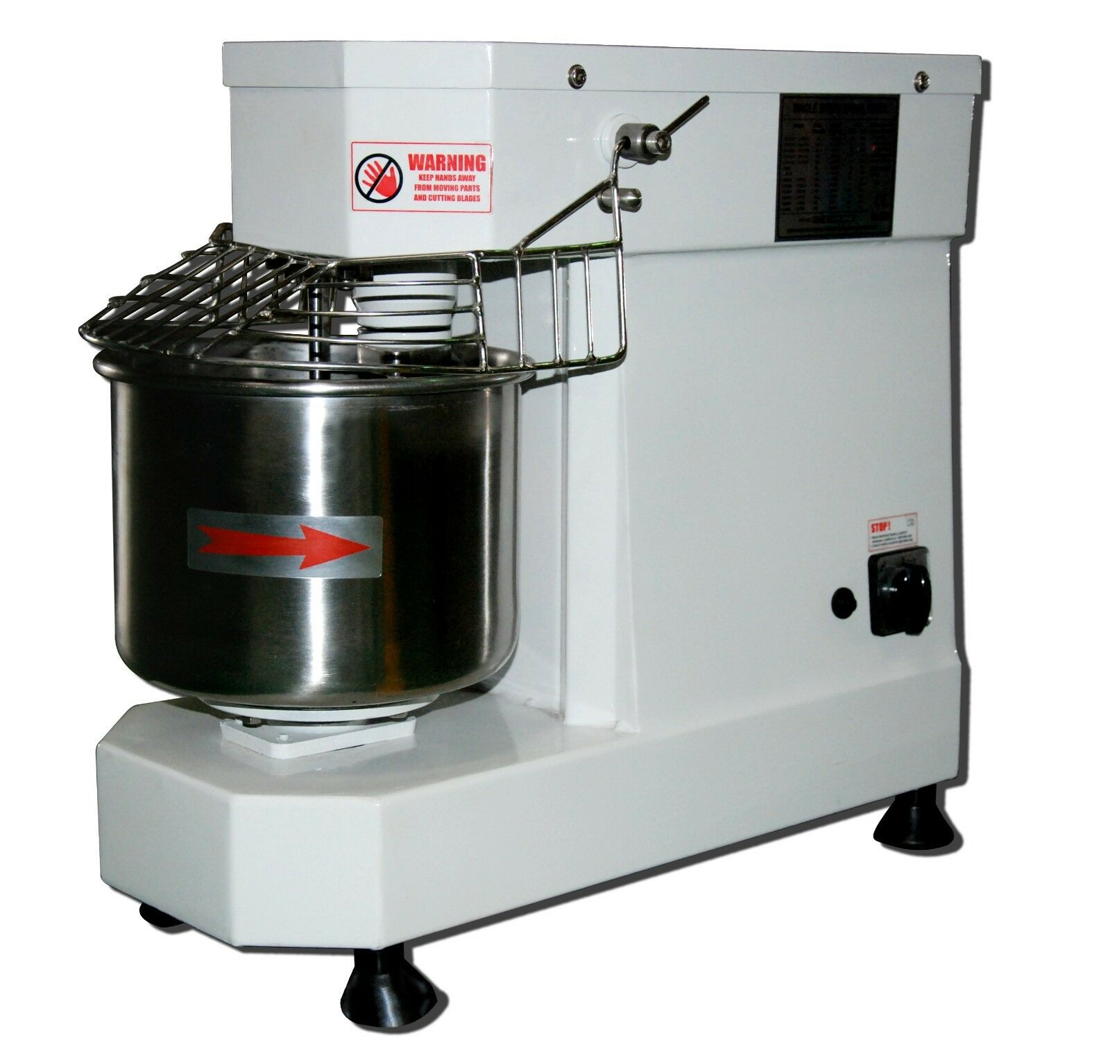 Hakka Commercial Food Dough Mixers 5 Quart Pizza Bakery Spiral Mixer DN5