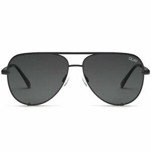 450e11fec2959 Quay Australia Desi Perkins High Key 62mm Aviator Sunglasses Black Smoke