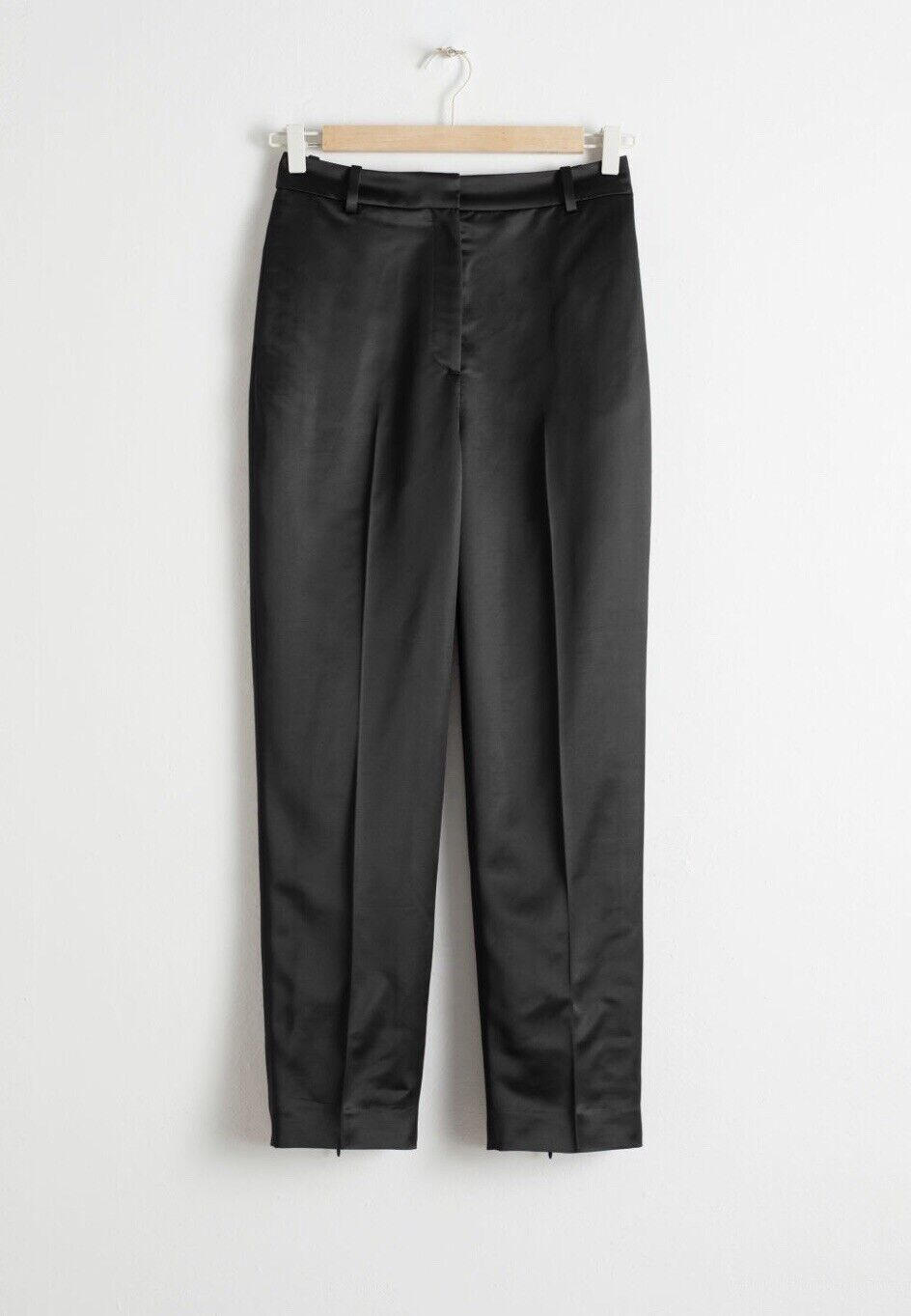And Other Stories Slim Fit Satin Trousers 42