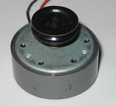 DC Motor with Pulley 6V Low Current 12400 RPM