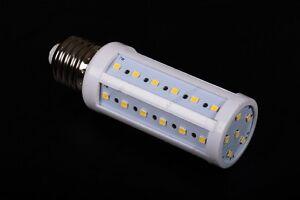 Lampada Tubolare Led : E w tubolare led lampadina bianco caldo w lampada vite