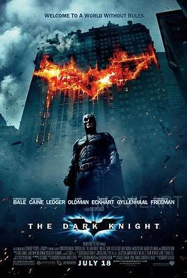 THE DARK KNIGHT ART BATMAN JOKER MOVIE POSTER  FILM A4 A3 ART PRINT CINEMA