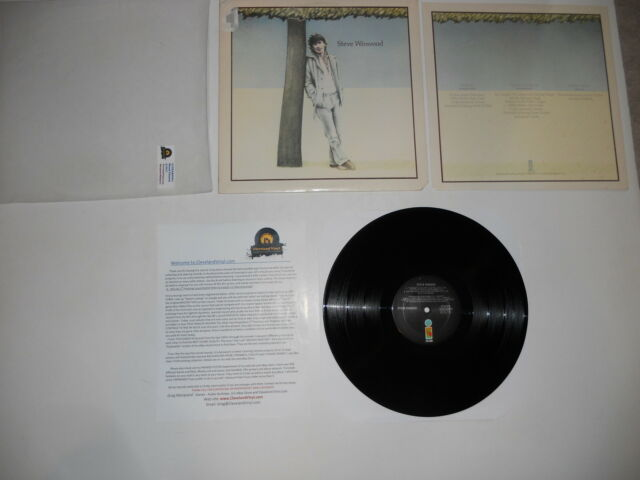 Steve Winwood S/T ILPS 9494 1977 Analog 1st Press EXC Ultrasonic CLEAN