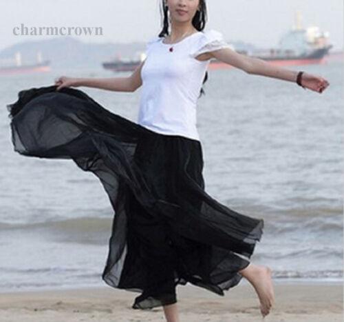 Ladies Women Boho Maxi Skirt Long Skirt Beach Skirt Long beach bell skirt Gift