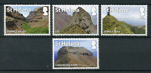 St-Helena-2017-MNH-Post-Box-Walks-4v-Set-Tourism-Landscapes-Mountains-Stamps