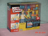 Playmates Exclusive Simpsons Flashback Playset with Figures - 00043377436089 Toys