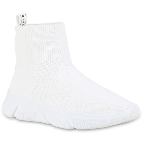 Damen Sportschuhe Laufschuhe Slip On Sock Sneaker Strick 896943 Hot