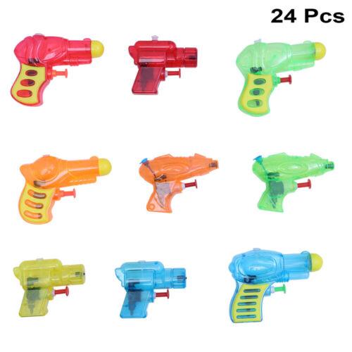 24pcs Water Gun Convinent Water Playing Small Beach Water Gun for Kids