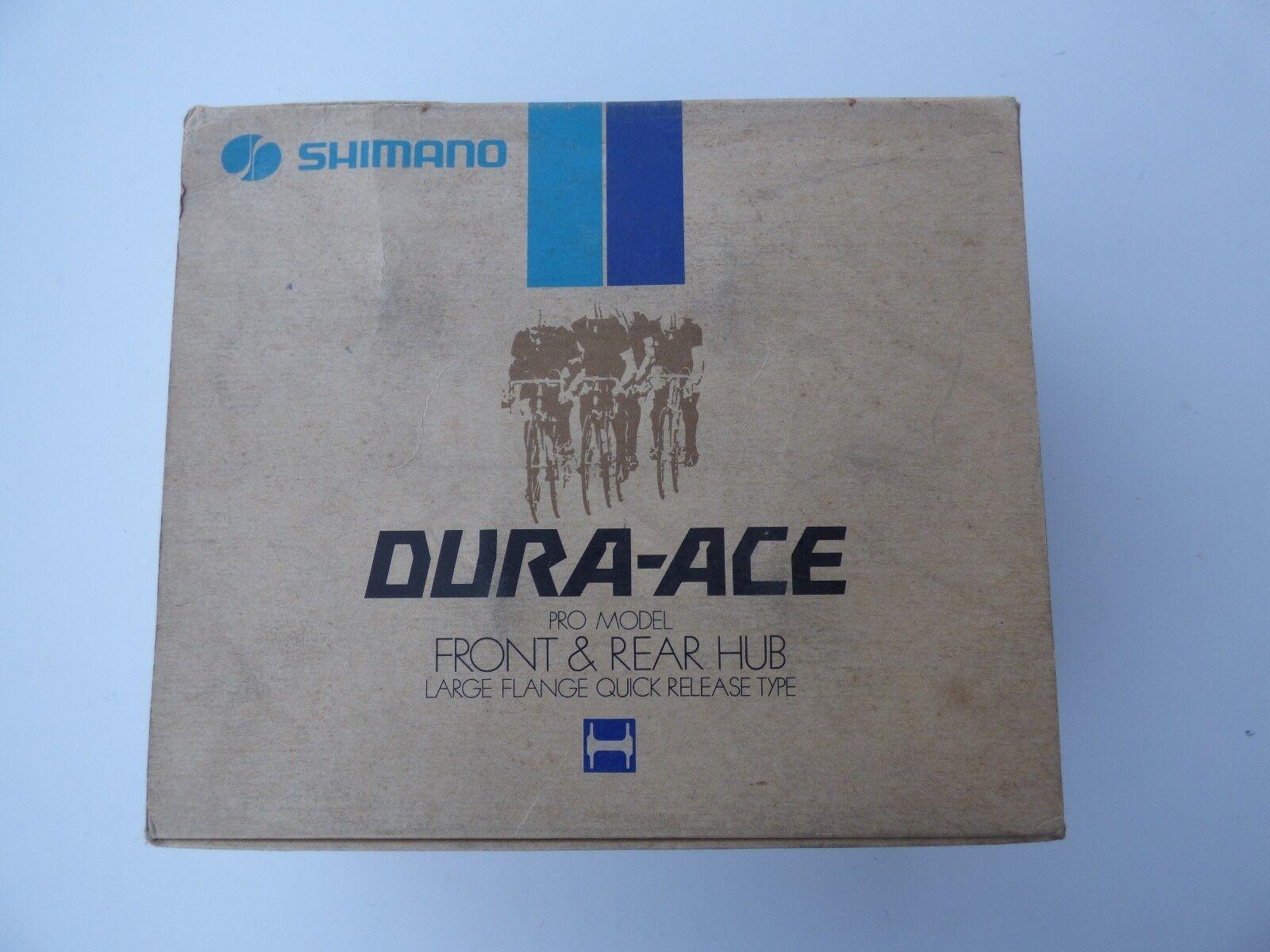 SHIMANO DURA ACE HB7120 HUBSET LARGE FLANGE  36 H  NOS  NIB