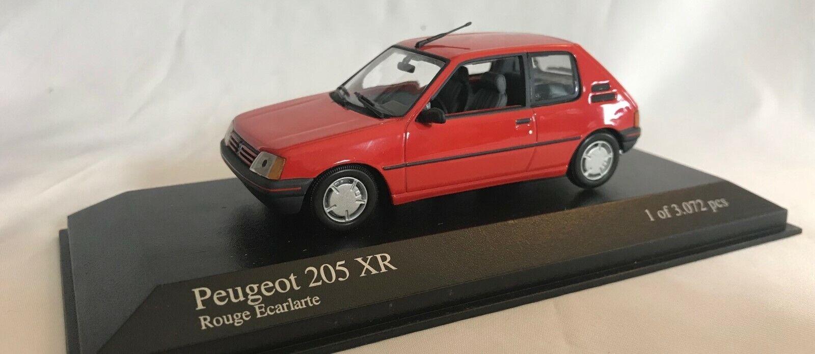 MINICHAMPS 1 43  400 112370 Peugeot 205 XR 1988