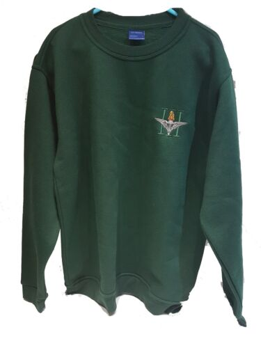 Custom Embroidered Parachute Regiment Long Sleeve Jumper Sweater M-3XL
