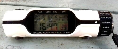 Travelling World Time Clock DP-810N