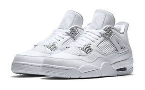 hombre o Nike Zapatos para Money 5 10 de 2017 Silver Pure Iv Air Jordan tama baloncesto Retro E76qr7w