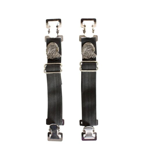 New Eagle Pants Straps Men Biker Accessory to secure Jeans Under Boot Motorcycle