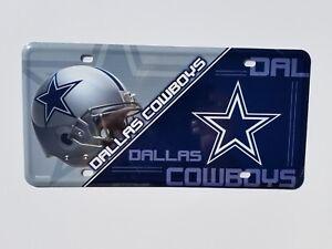 Dallas Cowboys Metal License Plate Auto Tag Man Cave FAST USA ... 51879eabb