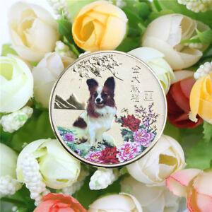 1pc-ano-del-perro-oro-chino-zodiaco-2018-souvenir-moneda-regalo-de-turismoK