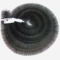 Genuine Hedgehog Gutter Brush Leaf Guard - 100mm Black 4m Length X 4 = 16m