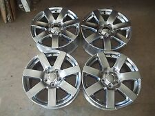 "14 15 16 Jeep JK Wrangler Alloy Wheel Rim 18"" OEM USED 1TK93TRMAC POLISHED SET 4"
