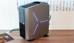 DELL-Alienware-Aurora-R5-barebone-w-motherboard-chassis-case-fan-power-supply