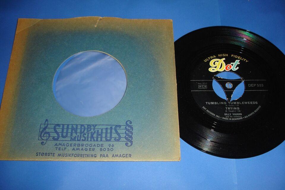 Single, Billy Vaughn ( DK 1958 ) , Sail Along Silvery Moon