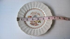 Vtg-Royal-Doulton-Grantham-Pattern-Bread-amp-Butter-Plates-Lot-of-4-6-1-2-034
