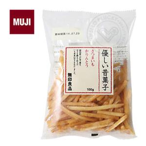 MUJI-SWEET-POTATO-KARINTO-SNACK-Traditional-Japanese-Potato-Fries-50g-JAPAN