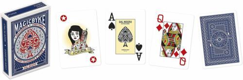 Carte da gioco Poker DAL NEGRO MAGIC BYKE JUMBO Scala 40 Ramino Burraco Blu