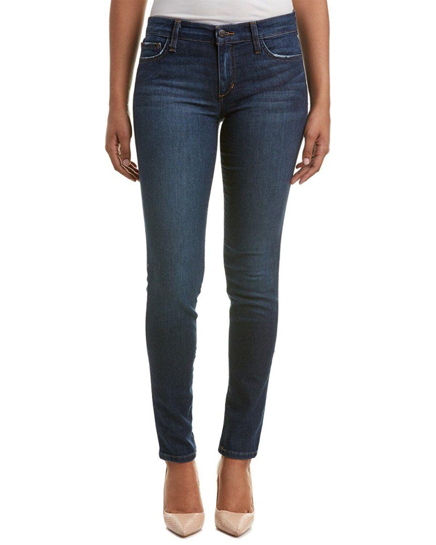 Nwt JOE´S Jeans Sz26 die Eng Anliegende Petite Midrise Jeans Stretch Akazie Blau