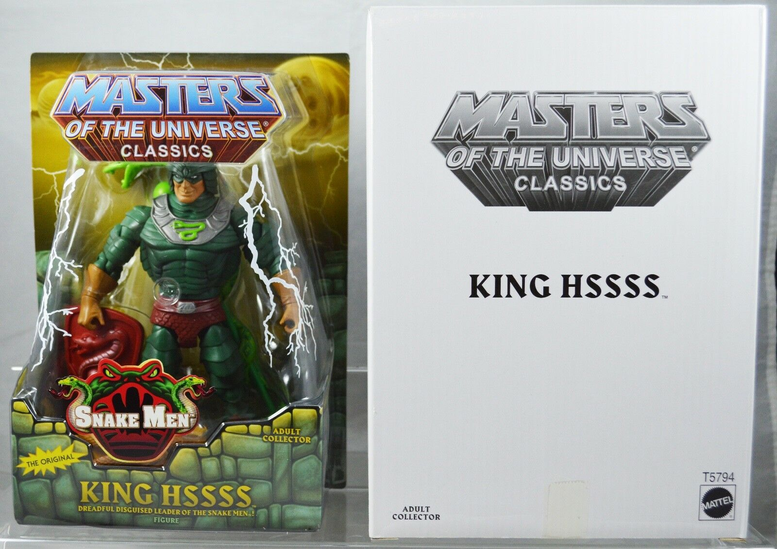 Masters of the Universe Classics KING HSSSS NEW   MOC  FREE S/H