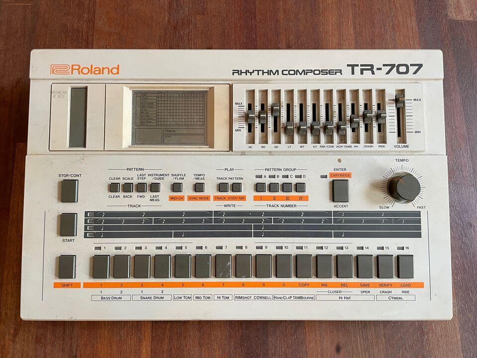Trommemaskine, Roland TR-707