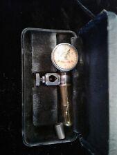 Starrett No 711 Last Word Dial Indicator 001 In Original Storage Case