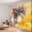 3D oil paint012 Blockout Photo Curtain Printing Curtains Drapes Fabric Window UK