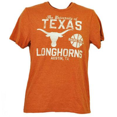 Weitere Ballsportarten Ncaa Texas Longhorns Basketball Herren T-shirt Orange Kurzärmelig Austin Tx Auf Dem Internationalen Markt Hohes Ansehen GenießEn Baseball & Softball