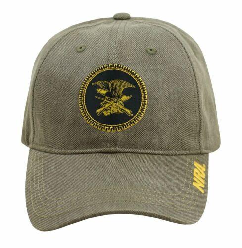 NRA National Rifle Association *MOSS GREEN EAGLO LOGO* TWILL HAT CAP NEW NR12
