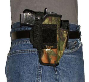 USA Custom Belt Hip Pistol Holster With extra Mag Holder Ruger 9E 9mm 9 mm