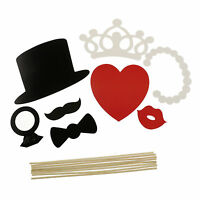 Photo Booth Props Mask On A Stick Mustache Wedding Party Birthday DIY Decoration