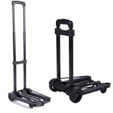 Us Portable Folding Platform Cart Dolly Push Hand Truck Foldable Large Capacity