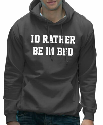 I/'d Rather be in Bed Funny Lazy Teenager Hoodie