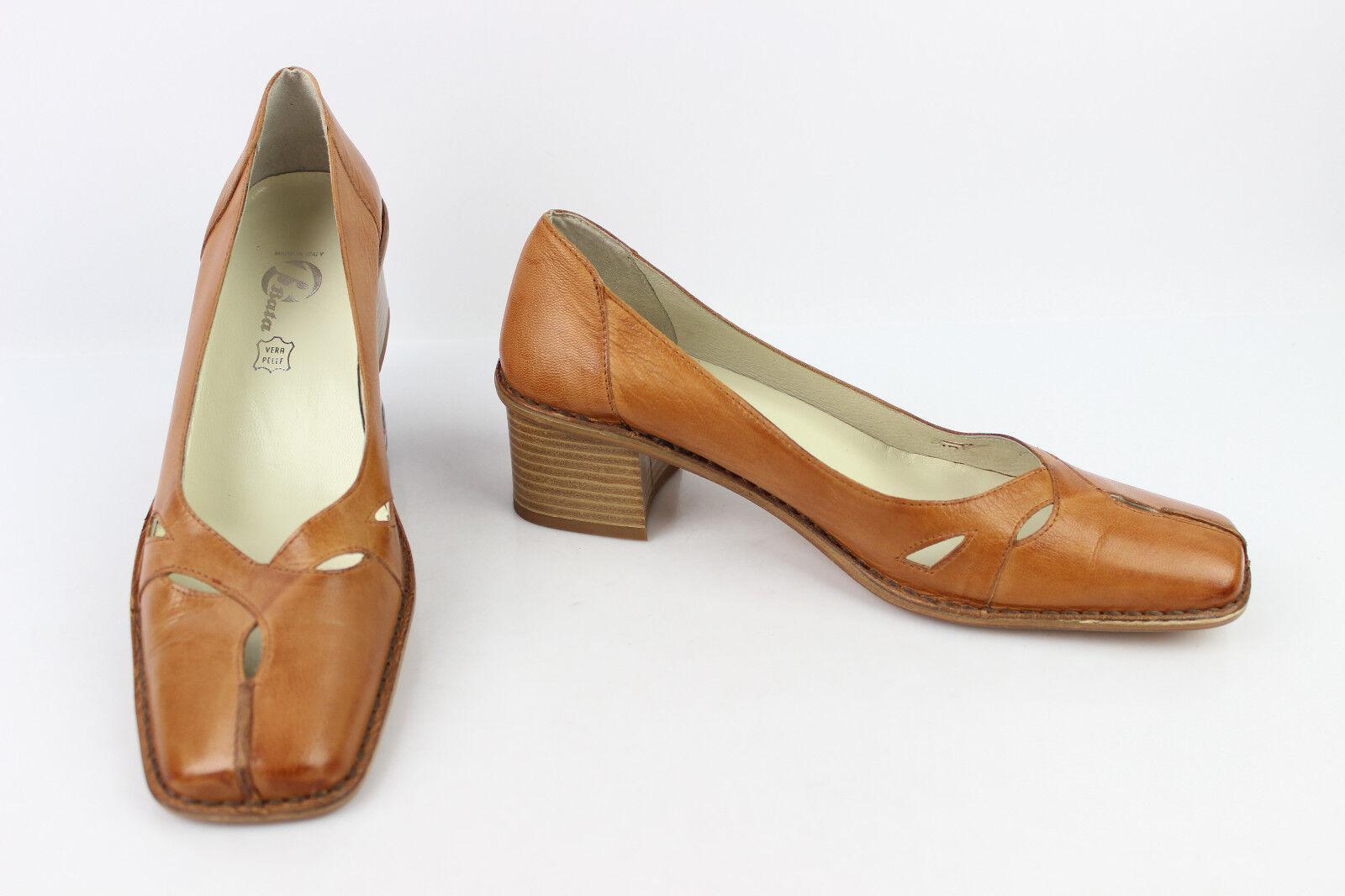 VINTAGE Zapatos BATA En Piel Fauve T T T 40 Excelente Estado  tienda